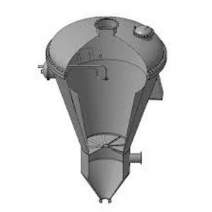 Вихровий гранулятор для одержання гранул пористої аміачної селітри