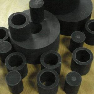 Tribotechnical composites based on polytetrafluoroethylene (PTFE) and secondary fluoropolymeric raw material