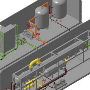 Technology and mechanization of the plant for production of complex liquid fertilizers